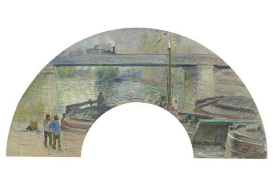 pissarrorailwaybridgepontoise