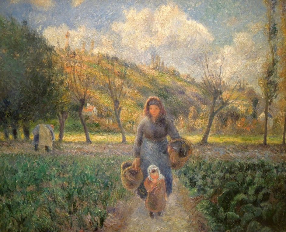 pissarrowomanchildauvers1881