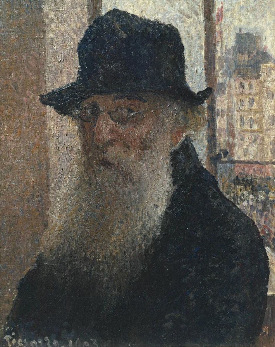 Self-Portrait 1903 by Camille Pissarro 1830-1903