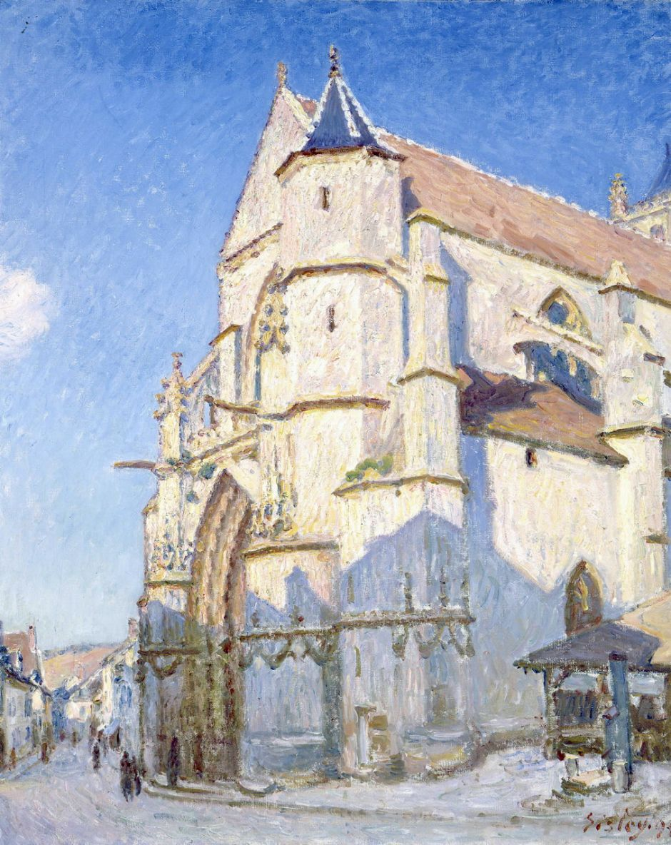 The Church at Moret (Evening)