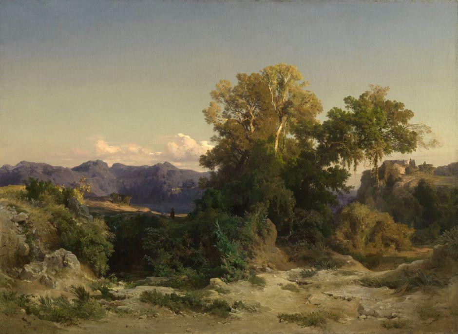 bocklinalbanhills1851