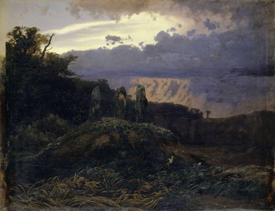 Arnold Böcklin; Das Hünengrab; 1847