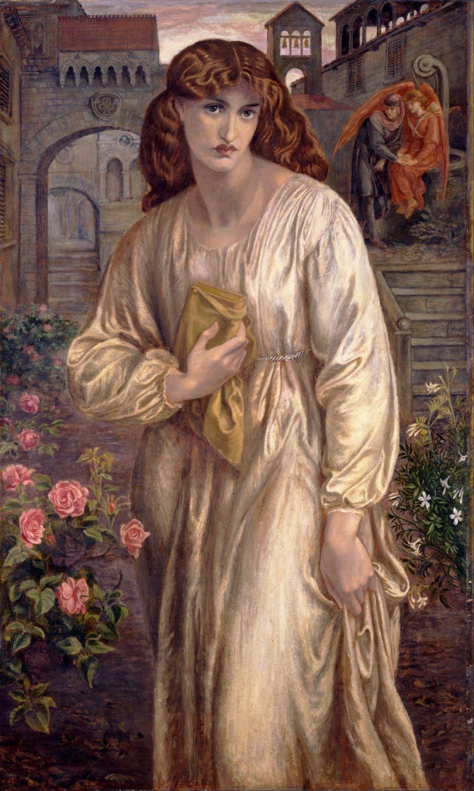 rossettisalutationbeatrice1880