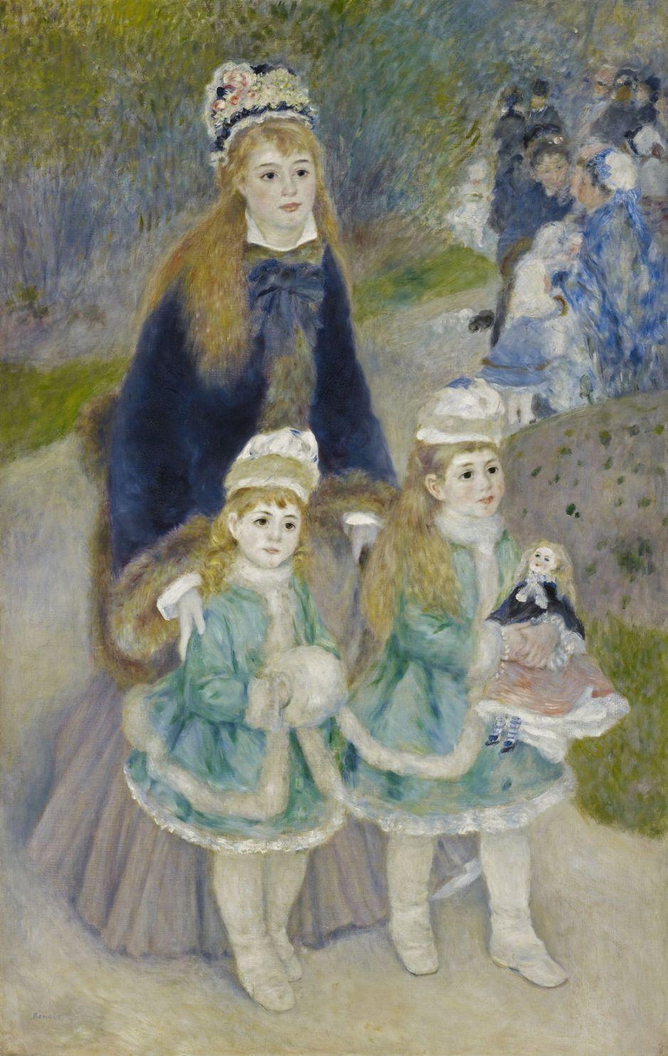 renoirmotherchildren