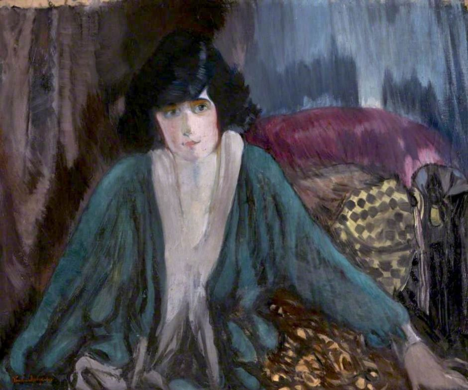 Hodgkins, Frances, 1869-1947; Mrs Hellyer