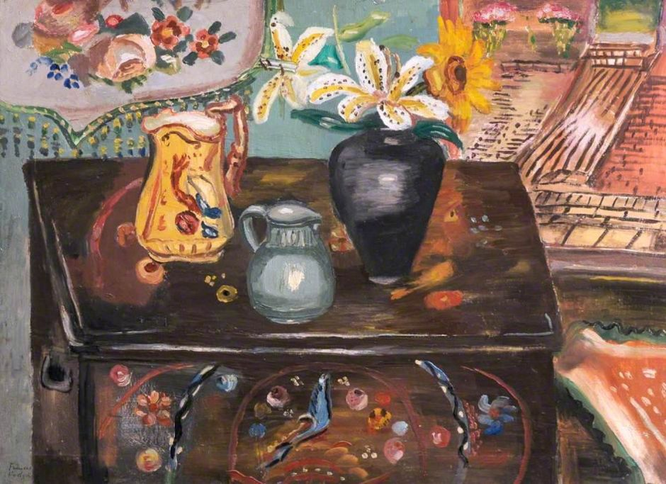 Hodgkins, Frances, 1869-1947; The Painted Chest