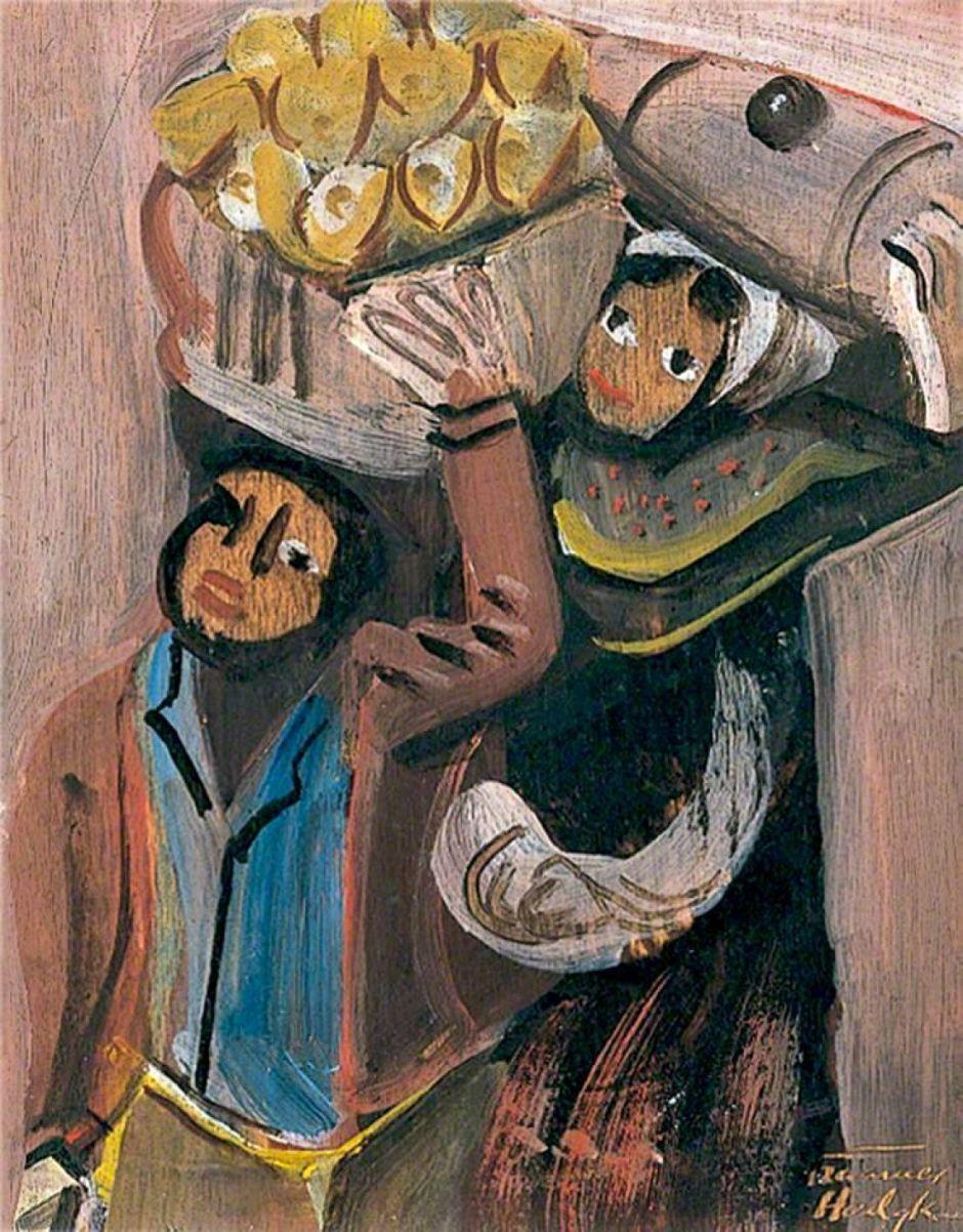 Hodgkins, Frances, 1869-1947; Spanish Peasants