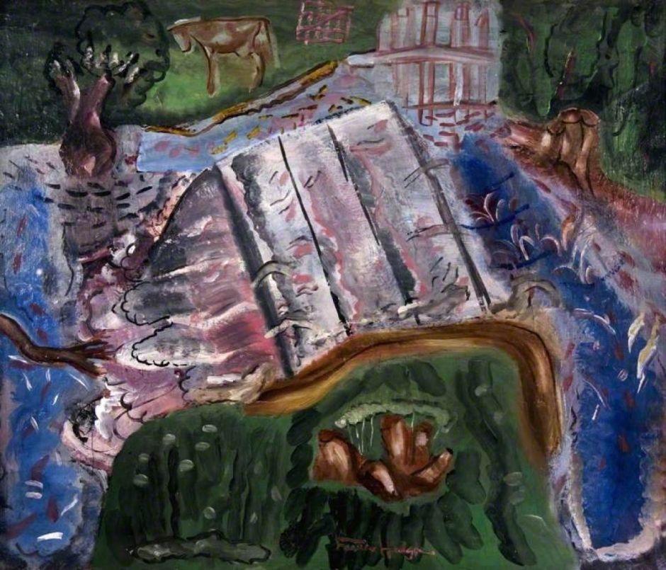 Hodgkins, Frances, 1869-1947; The Weir