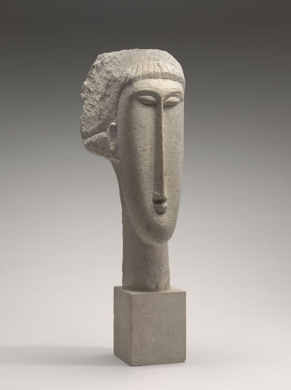 modiglianiiheadwoman1910