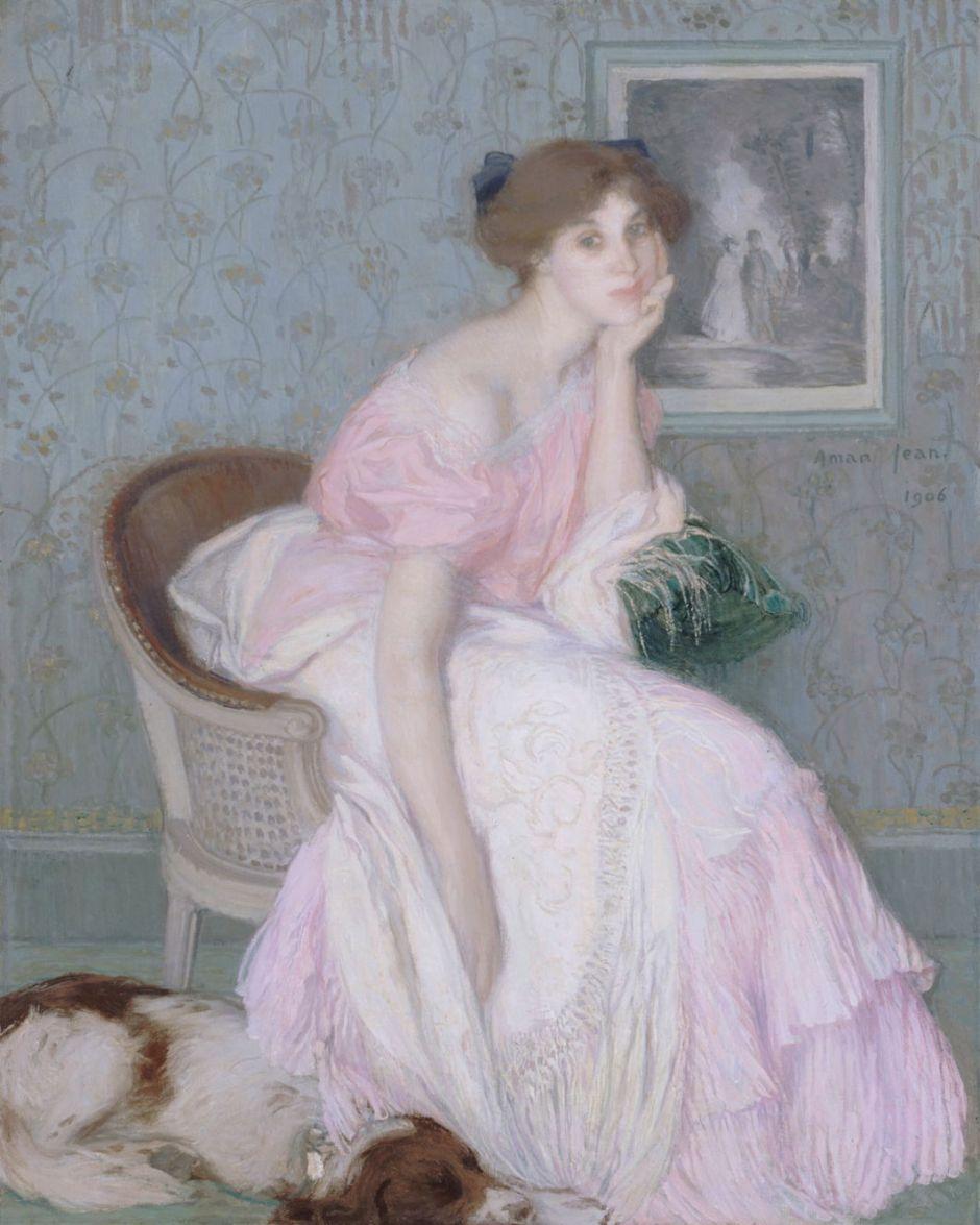 Miss Ella Carmichaël, by Edmond Aman-Jean