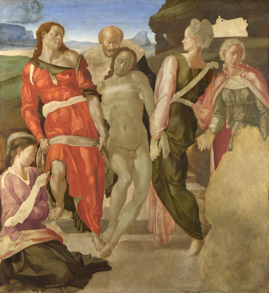 michelangeloentombment
