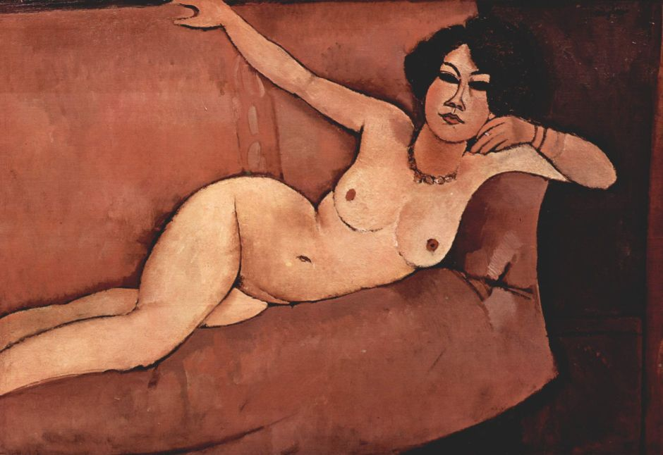 modiglianinudesofa1916
