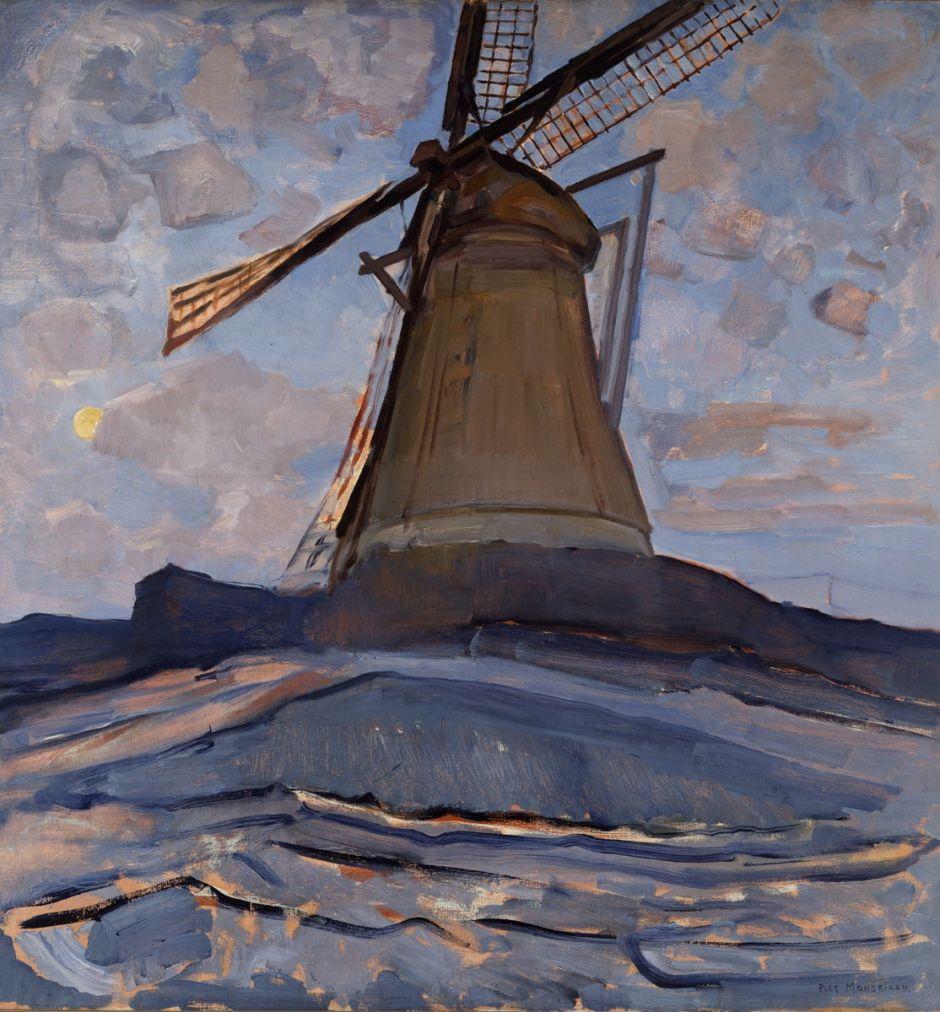 mondrianwindmill1917