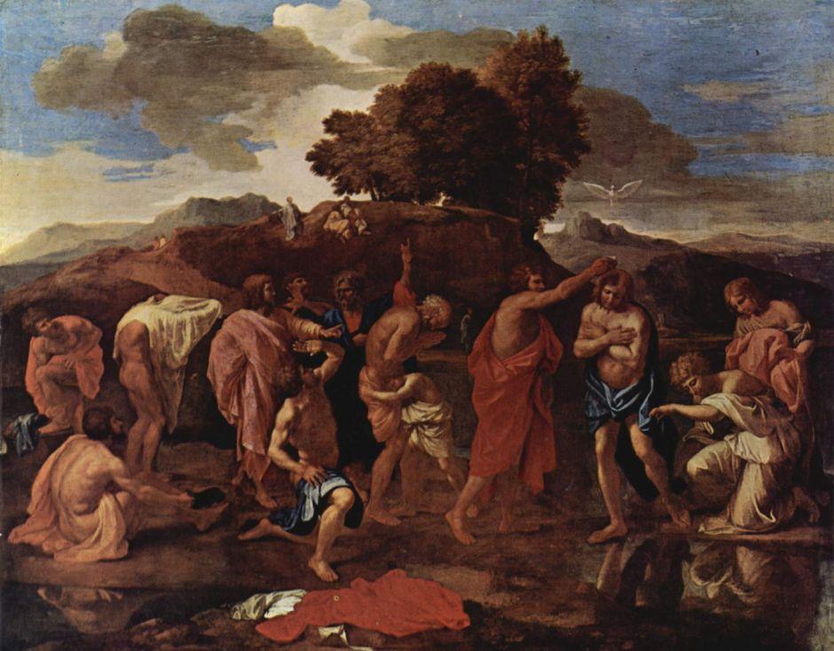 poussinbaptism