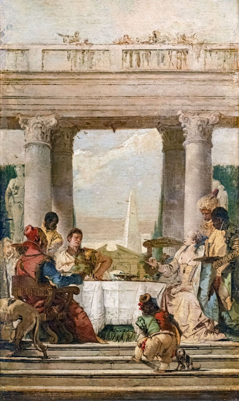 The Banquet of Cleopatra (Tiepolo paintings) - Stockholms universitet
