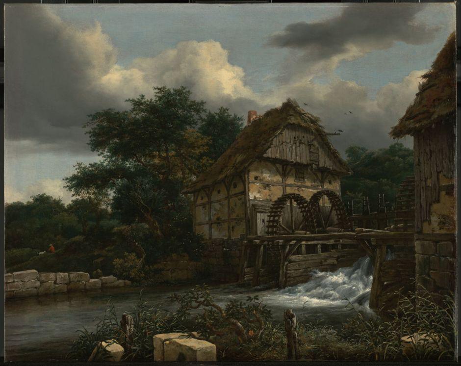 vanruisdaeltwowatermills