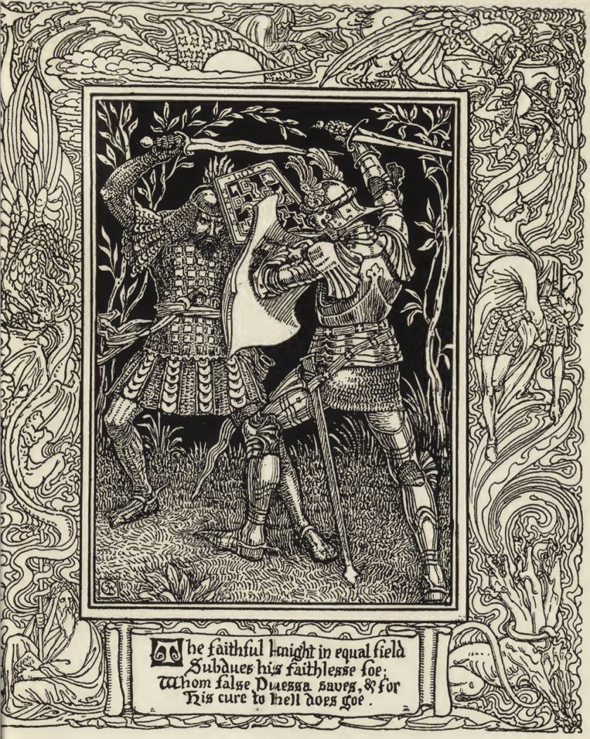 The Faerie Queene 3: Duels and capture by a giant