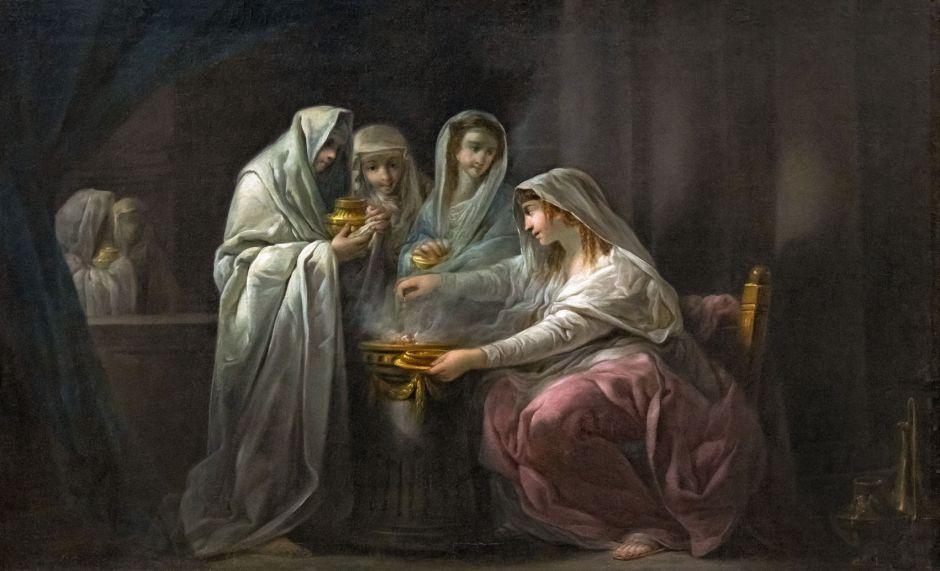 Beaux-Arts de Carcassonne - Les Vestale - Jacques Gamelin - Joconde04400000252