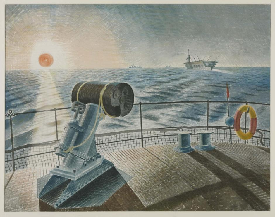 Midnight Sun 1940 by Eric Ravilious 1903-1942