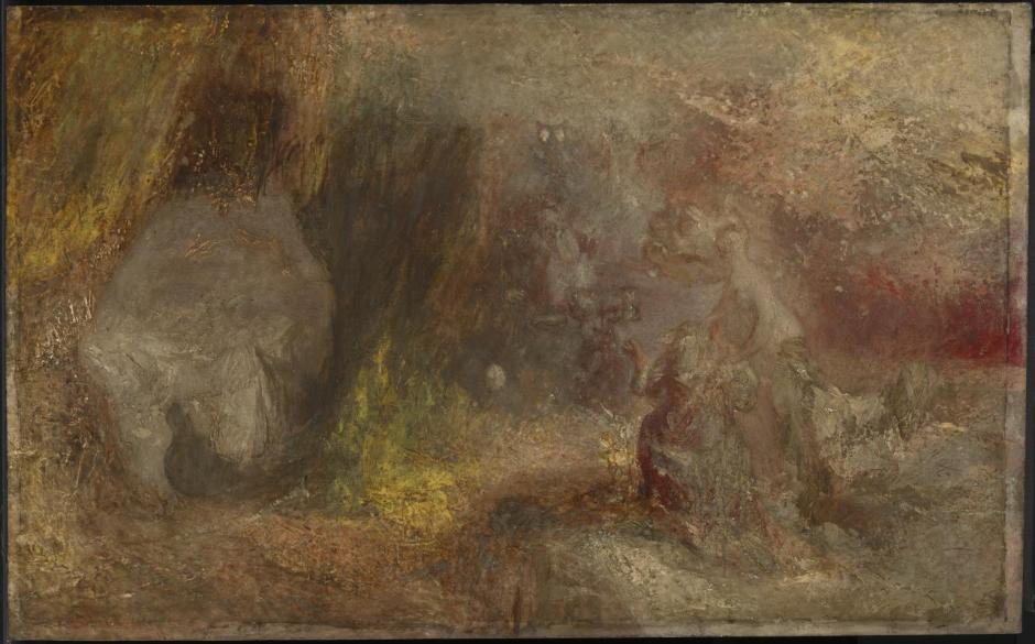 The Cave of Despair c.1835 by Joseph Mallord William Turner 1775-1851