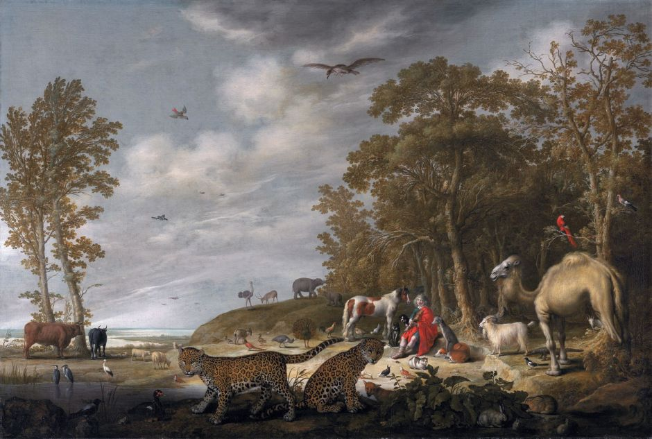 Orpheus charming the animals, by Aelbert Cuyp