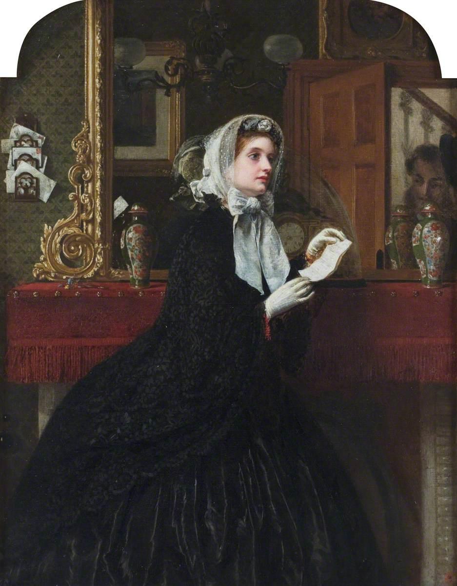 Solomon, Rebecca, 1832-1886; The Appointment