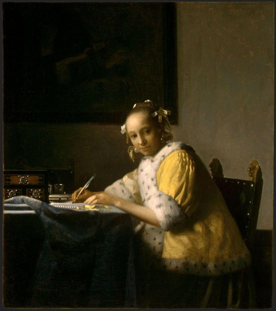vermeerladywriting