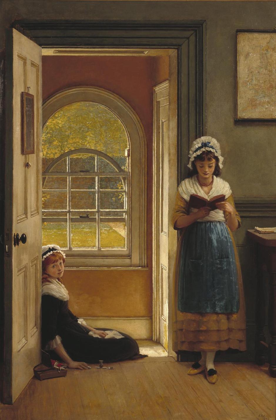 Kept in School 1876 by George Dunlop Leslie 1835-1921