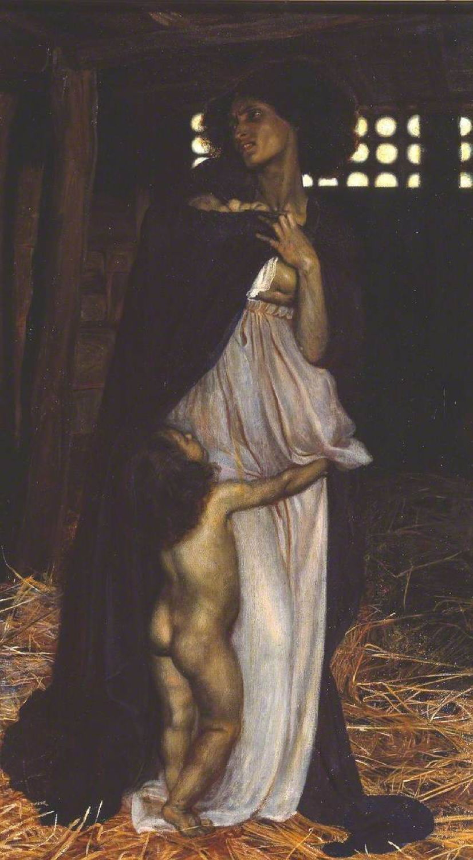 Richmond, William Blake, 1842-1921; The Slave