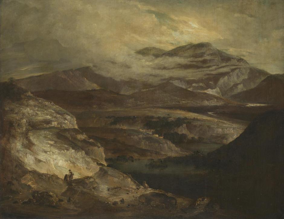 Slate Quarries c.1802-5 by John Crome 1768-1821