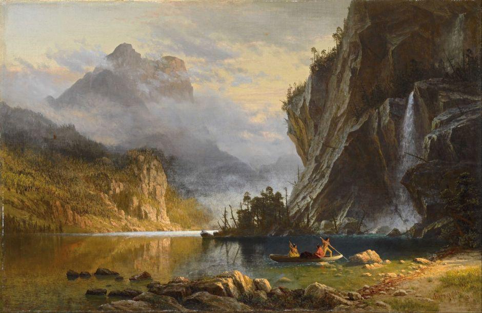 bierstadtindiansspearfishing