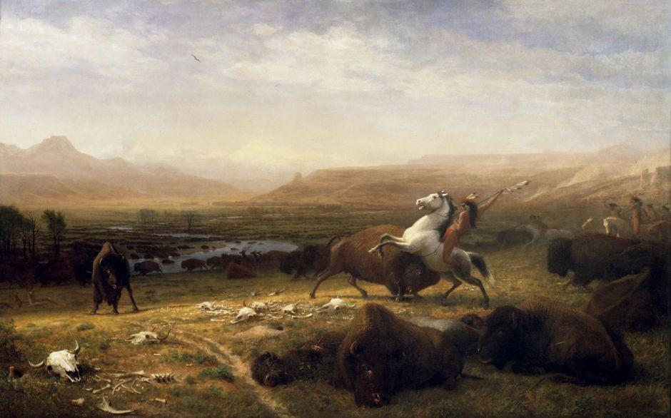 bierstadtlastbuffalo