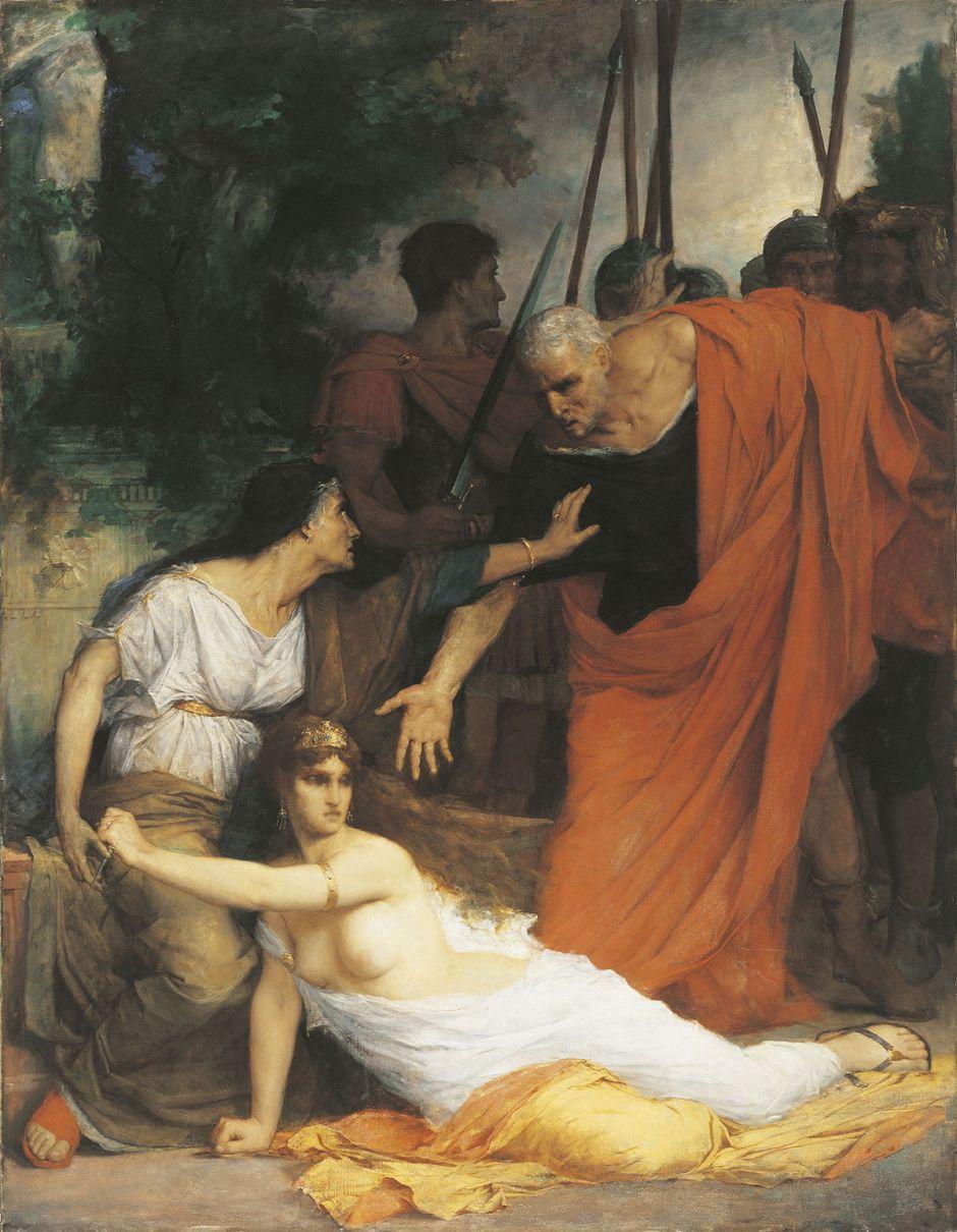 La mort de Messaline