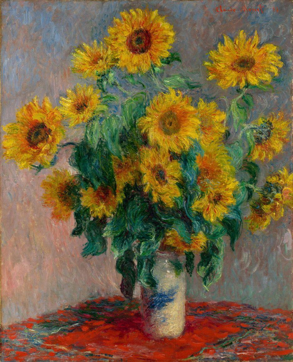 monetsunflowers