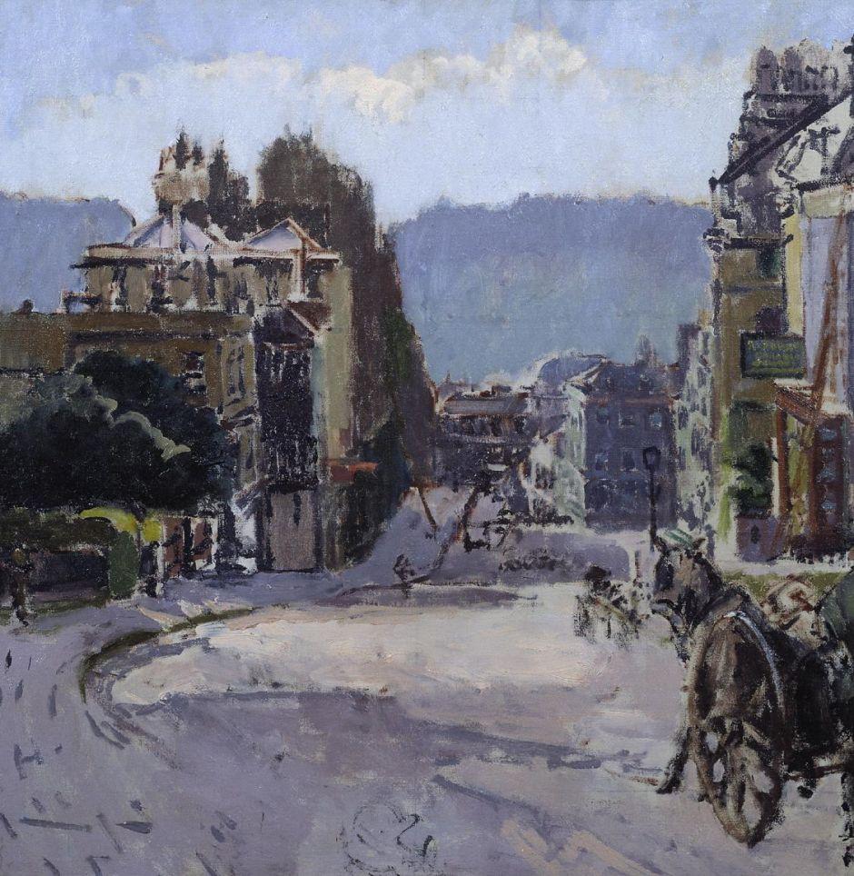 Belvedere, Bath c.1917 by Walter Richard Sickert 1860-1942
