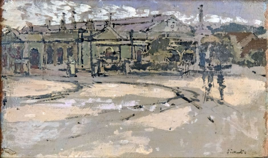 Bemberg Fondation Toulouse - La gare de Dieppe - Walter Sickert