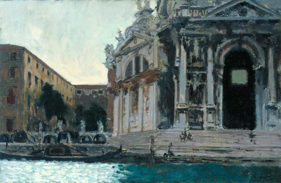 Venice, la Salute c.1901 by Walter Richard Sickert 1860-1942