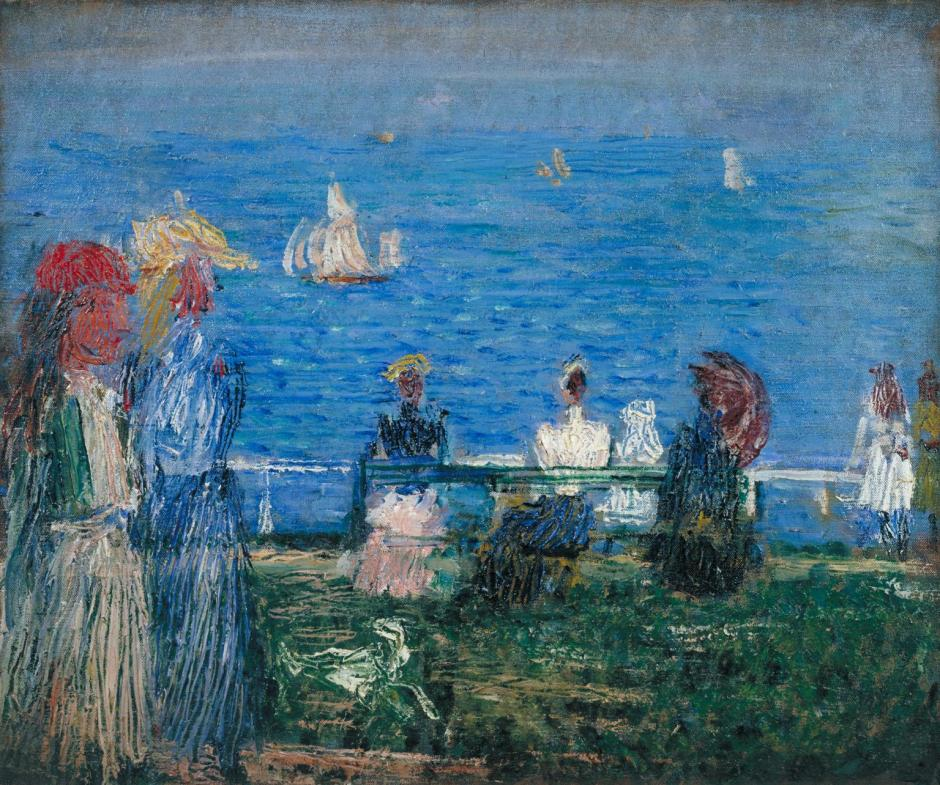 Southwold c.1889 by Philip Wilson Steer 1860-1942