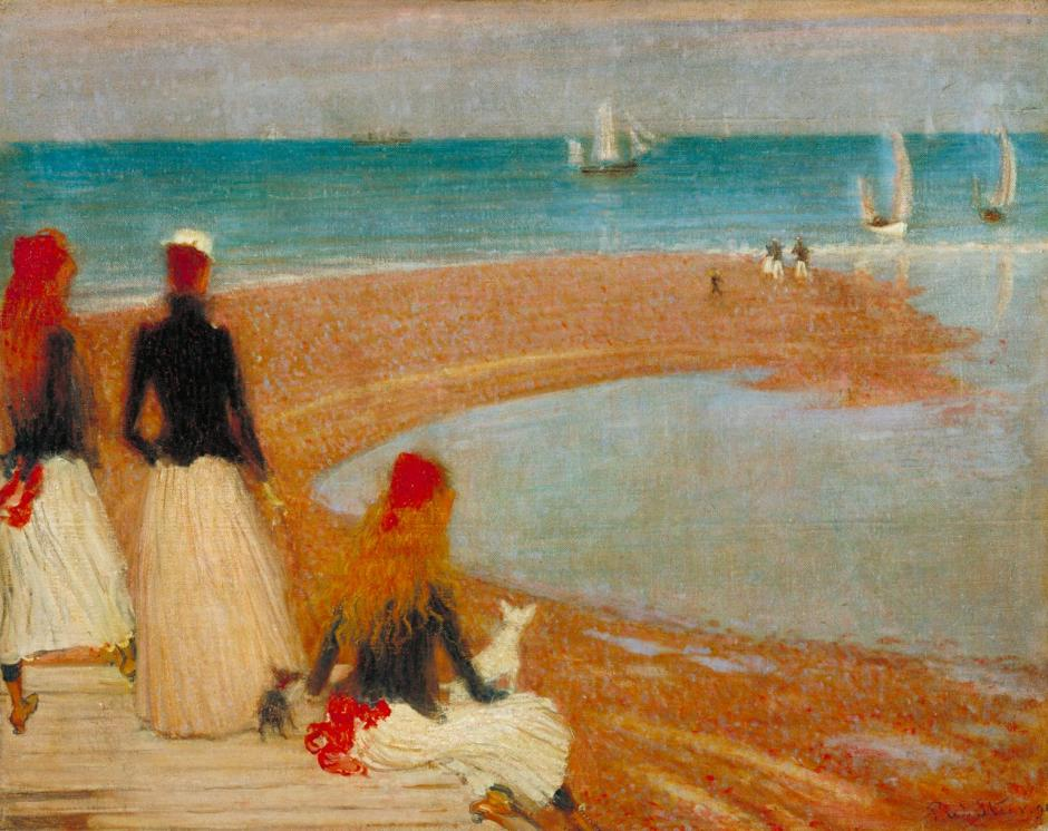 The Beach at Walberswick ?c.1889 by Philip Wilson Steer 1860-1942