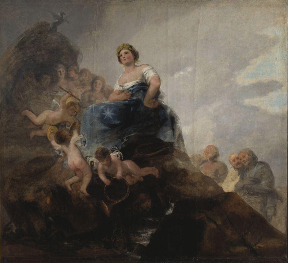 Francisco Goya Y Lucientes: Poesin och skalderna.NM 5592