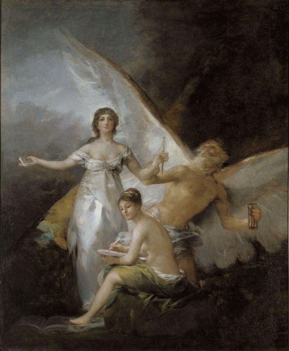 Francisco Goya Y Lucientes: Sanningen, Tiden och Historien.NM 5593