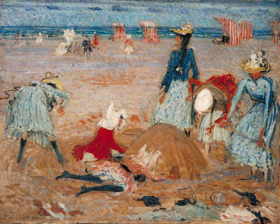 Boulogne Sands 1888-91 by Philip Wilson Steer 1860-1942