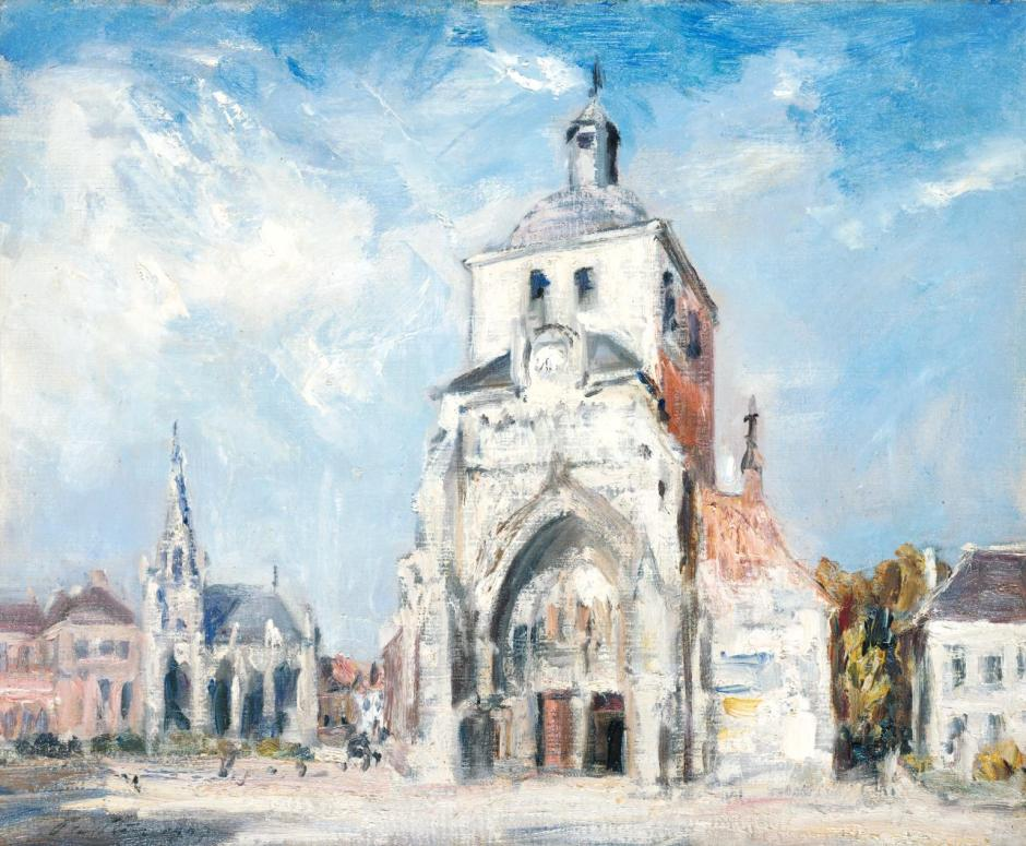 The Church at Montreuil 1907 by Philip Wilson Steer 1860-1942