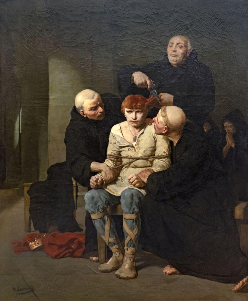 Beaux-Arts de Carcassonne - Le dernier des Mérovingiens - Evariste-Vital Luminais -Joconde 04400000403