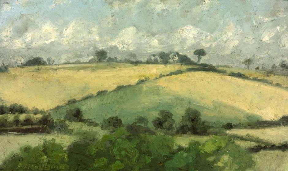 In Buckinghamshire circa 1890 by Paul Maitland 1863-1909