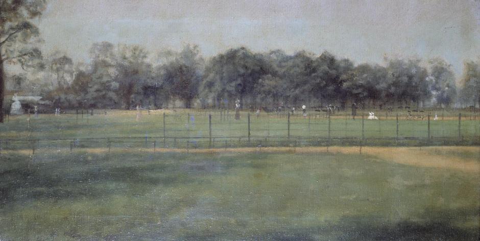 Kensington Gardens: Vicinity of the Pond ?1907 by Paul Maitland 1863-1909