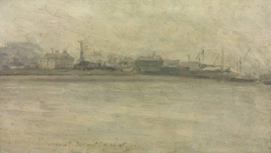 Riverside Industries circa 1889 by Paul Maitland 1863-1909