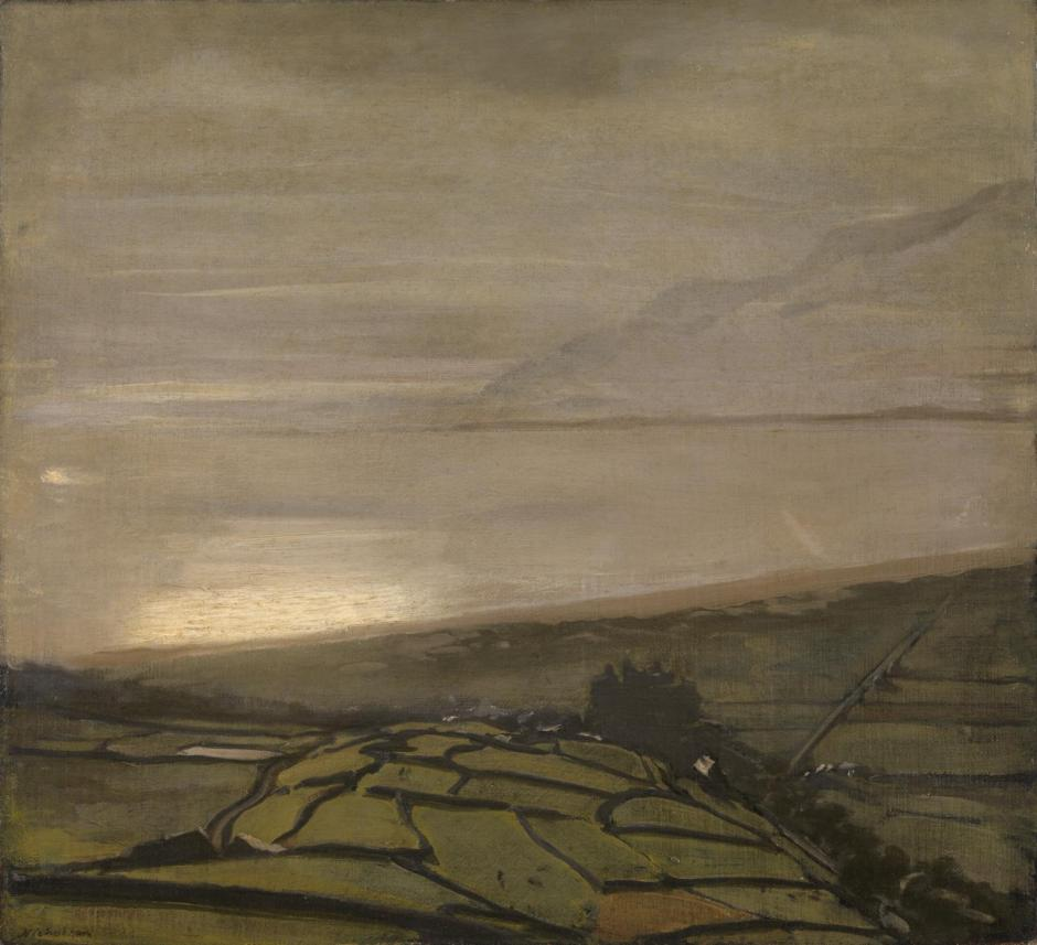 The Hill above Harlech c.1917 by Sir William Nicholson 1872-1949