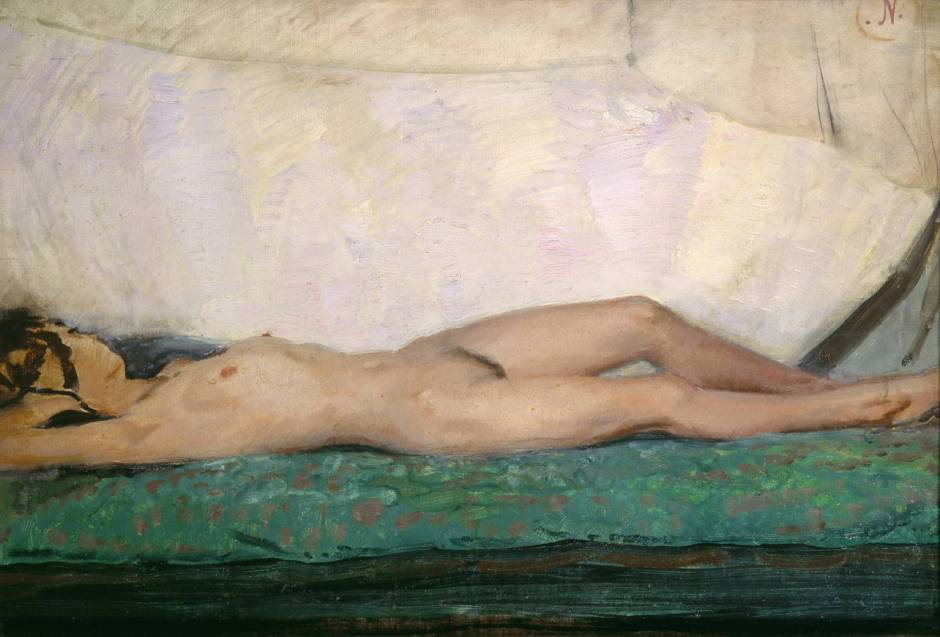 Nude circa 1921 by Sir William Nicholson 1872-1949