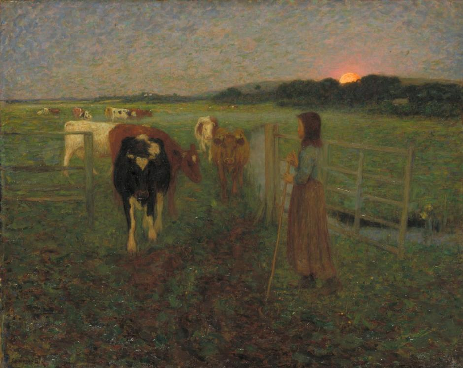 Changing Pastures 1893 by Edward Stott 1859-1918